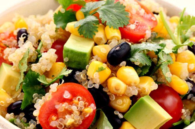 Summer Quinoa Salad | I Love Salads | Pinterest