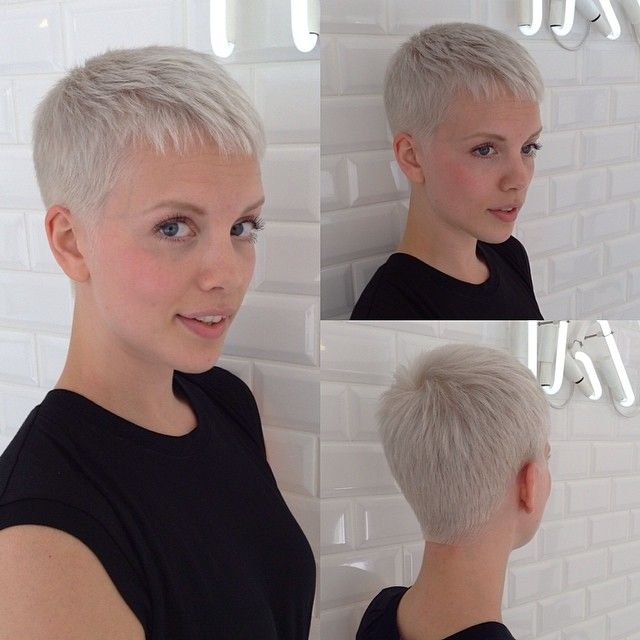 Super Short Hairstyles Entrancing 35 Best Fryzury Images On Pinterest  Pixie Cut Pixie Cuts And