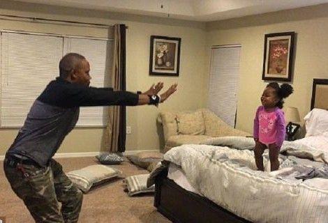 Ένας υπέροχος μπαμπάς: Δείτε πώς χρησιμοποιεί… μαγικές δυνάμεις στην κόρη του! (Βίντεο)