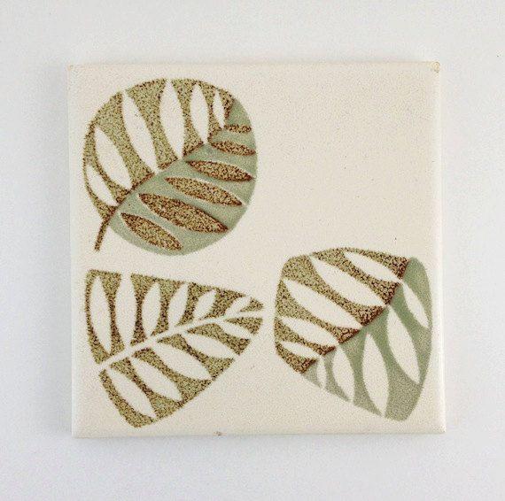 NEW ITEM Mid Century Modern Mosaic Tile by PrairieWindAntiques, $16.00