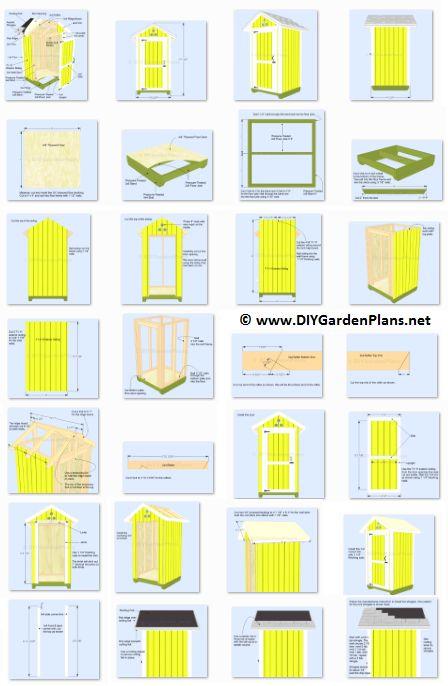 Garden Sheds 4x4 13 best garden shed ideas images on pinterest | gardening, garden