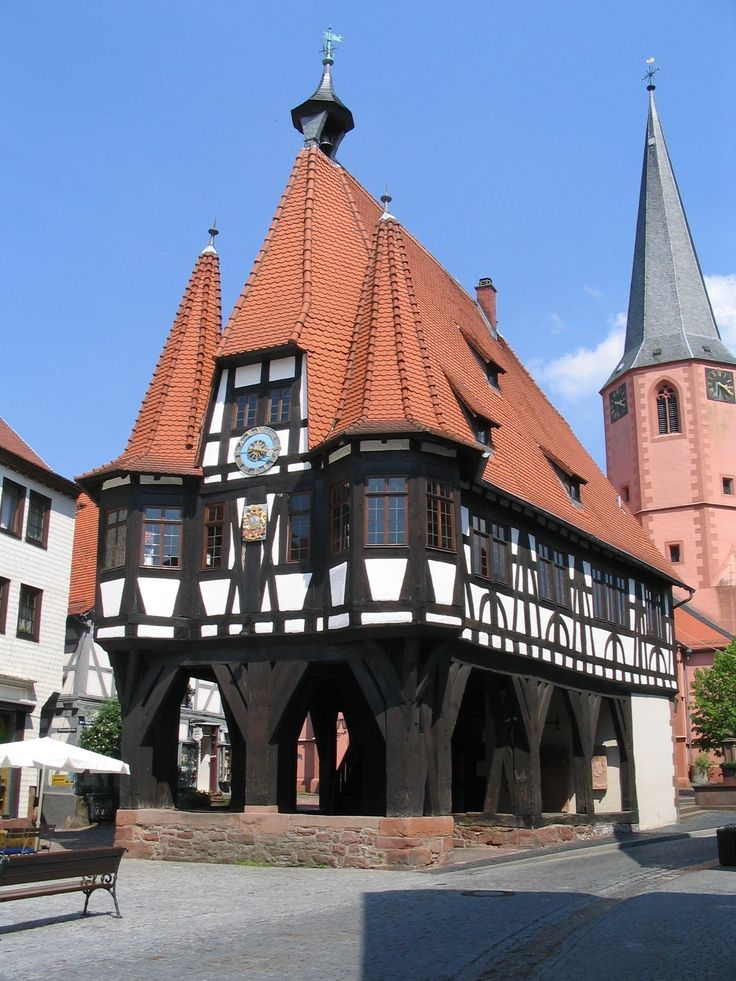 ✅♡ Michelstadt, Odenwald, Hessen ... where I rescued Claudia from Gabi and the evil Jugendherberge