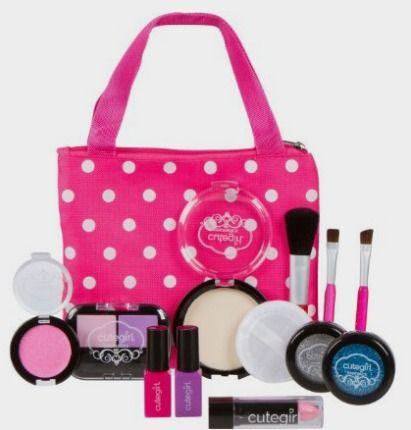 amazon makeup kit. amazon: pretend makeup play set for children by cutegirl cosmetics: toys\u2026 kids amazon kit