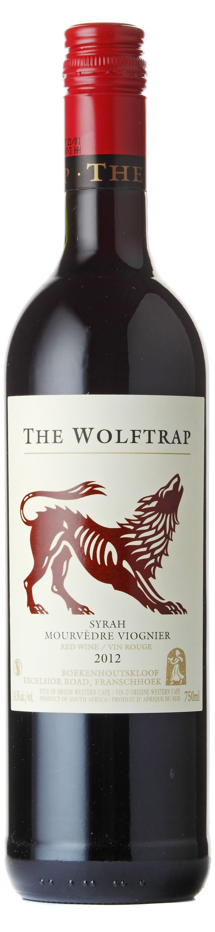 red wine pretty label | The Wolftrap Syrah/Mourvèdre/Viognier 2012 - Expert wine ratings and ...
