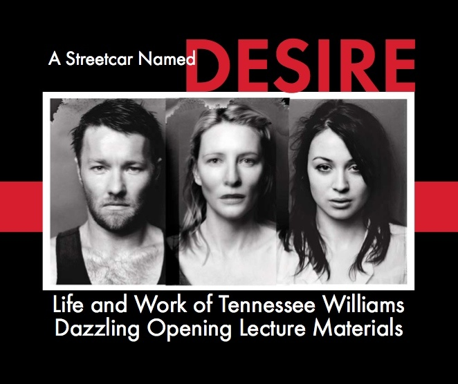 """the relationship of relatives in a streetcar named desire by tennessee williams """"a streetcar named desire,"""" one of the most critically acclaimed and beloved  plays in  upends the precarious relationship between her sister and brother-in- law,  she thanks the cast and crew, her dear friends and family, and especially  jon."""