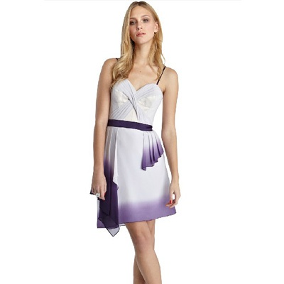 Karen Millen Dip Dye Printed Dress in White: Dyed Dresses, Dips Dyed, Dips Dyes, Millen Dresses, Millen Dips, Beautiful Dips, Karen Millen, Dresses K087E, Chiffon Dresses