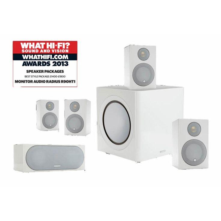Monitor Audio Radius R90HT1 - Winner of the What HiFi Speaker Packages Best Buy 2014