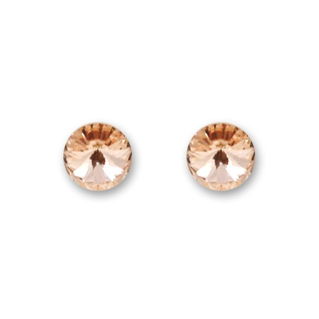 Polestar studs peach #applepiepieces I like!