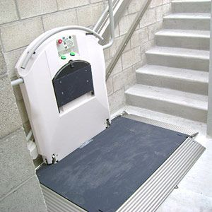 11 best images about incline wheelchair lifts on pinterest for Garaventalift