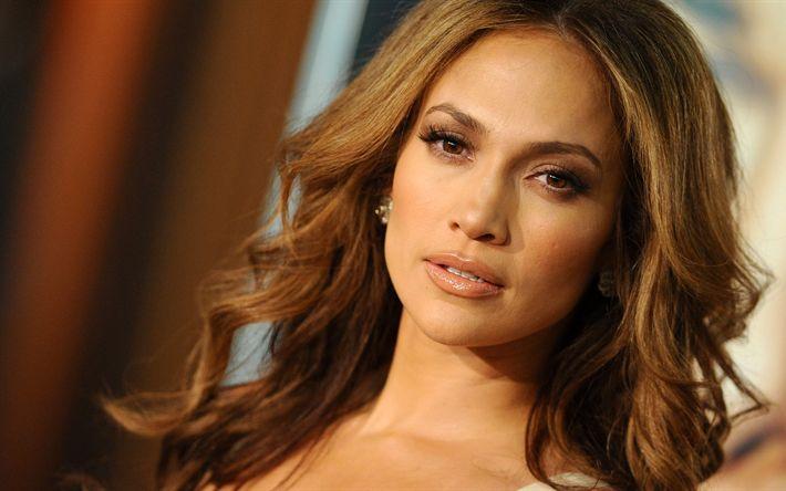 Download imagens 4k, Jennifer Lopez, retrato, cantora norte-americana, superstars, mulher bonita