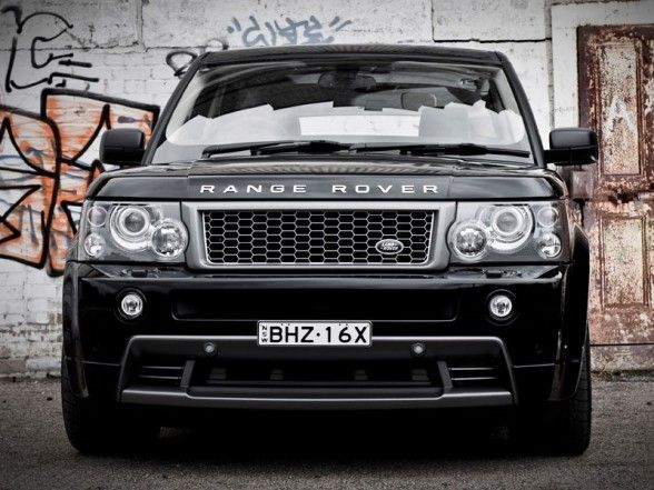 Range Rover Sport - Because the off-roading should be done in the comfort of a nice living room