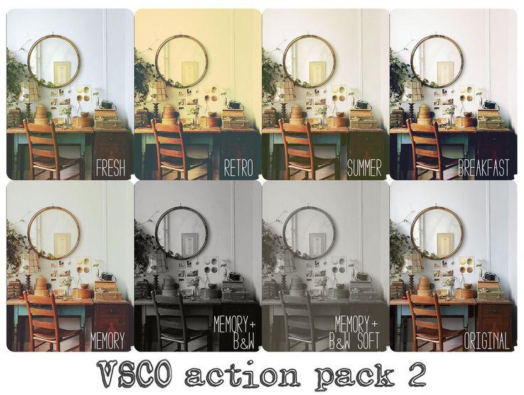 VSCOish Actions Pack 2 by beorange on deviantART