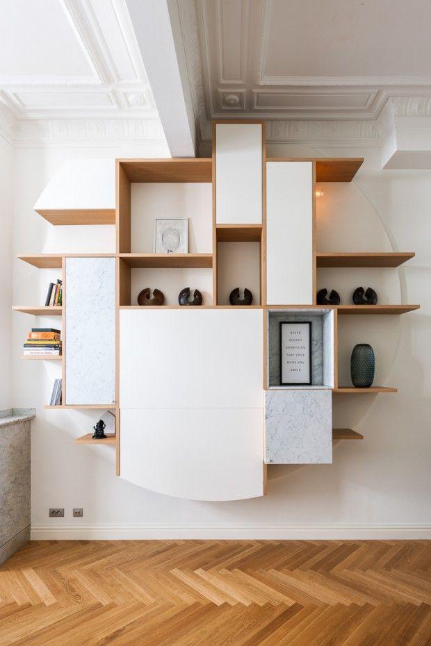 Van Staeyen - Journal du Design bibliothèque - rond