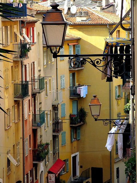 Nice, FrancePhotos, Nice France, Favorite Places, Old Town, Yellow House, Travel, Flower Fields, Vieux Nice, French Riviera