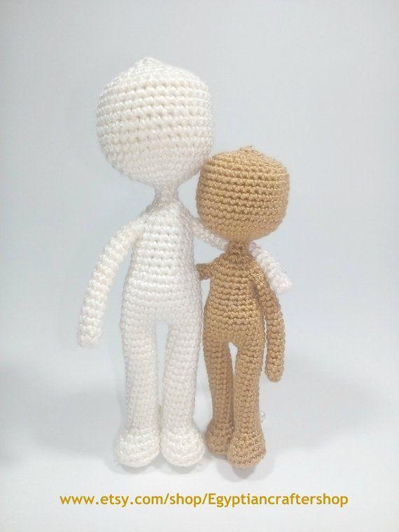Curvy Female Doll Base (No Sew, One Piece Pattern!) - Sweet ... | 760x570