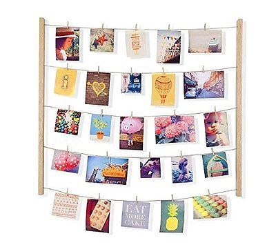 Photo Frame Wall Art Collage Picture Display Hanging Polaroid Craft Custom DIY