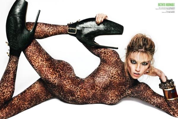 V Spain 2010: Alexander Mcqueen, V Magazines, Txema Yeste, Leopardprint, Photos Shoots, Photoshoot, Leopards Prints, Animal Prints, Masha Novoselova