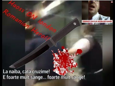 Roman la Londra dovada de sange rece sa batut cu teroristi