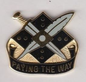 US Army 9th Finance Group crest
