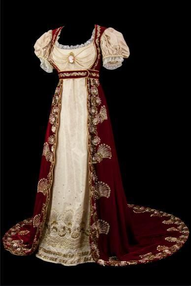 Spectacular #Regency ballgown.