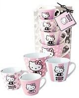 Hello Kitty Ceramic Measuring Cups Set. So cute but not so practical. If only it was stackable.