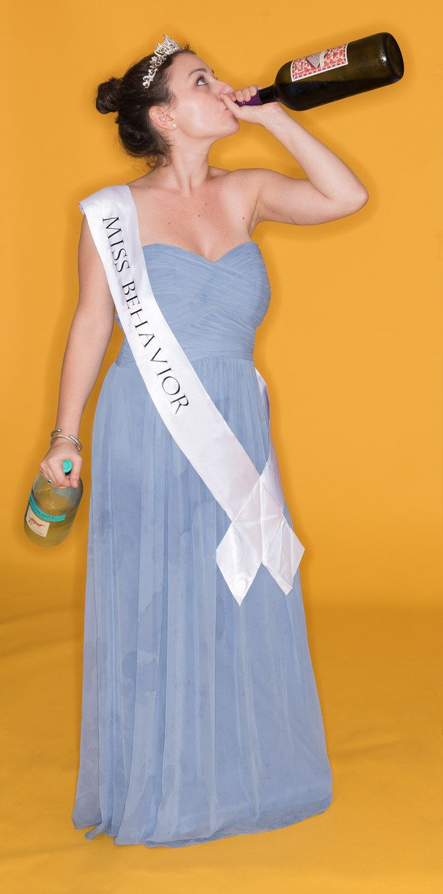 5 Easy Halloween Costumes You Can Make From An Old Bridesmaid Dress