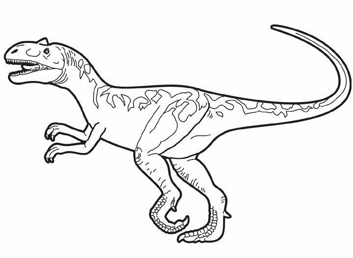 allosaurus ausmalbilder #allosaurus #ausmalbilder | Moose ...