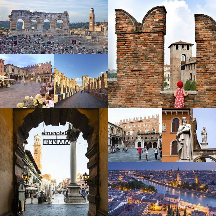 Postcards from #Italy: Greetings from Verona, the city of Romeo and Juliet!