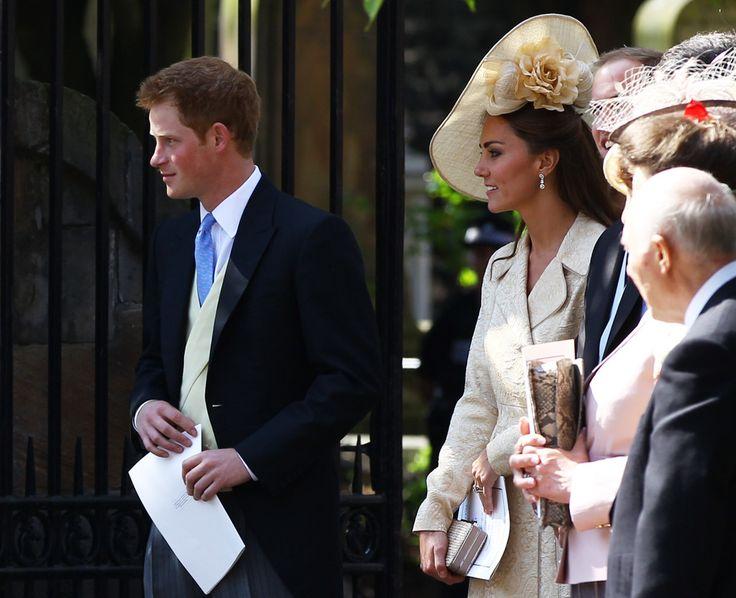 Prince Harry - Zara Phillips Marries Mike Tindall In Edinburgh