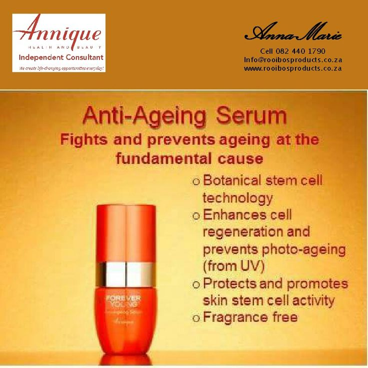 Annique Anti-aging serum with rooibos