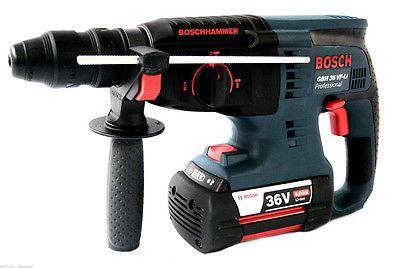 Bosch Professional 0611901R0V Akku Bohrhammer Akkuschrauber GBH 36 VF LI blausparen25.com , sparen25.de , sparen25.info
