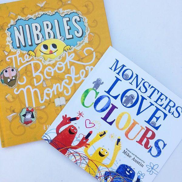 Gift Grapevine kids book reviews - monster books