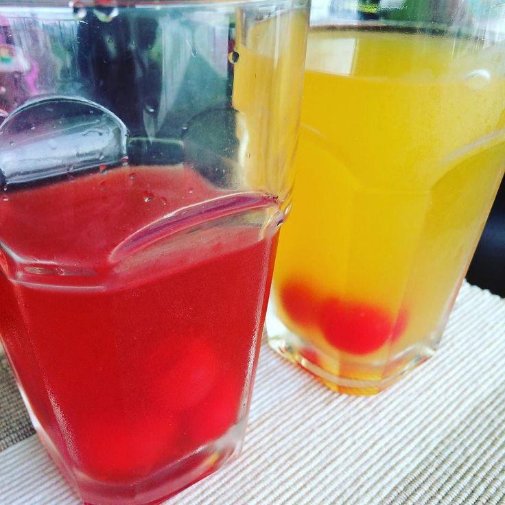 Muchas gracias agua! Limonada con sabores: cereza y maracuyá [Passiflora edulis] #Health #Tourism #Travel #Panama #Bitcoin #Water #passionfruit #cherry