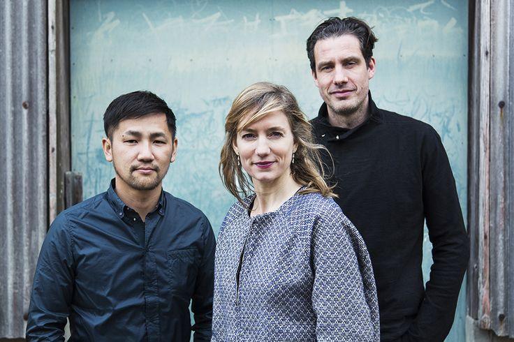 Teruhiro Yanagihara, Carole Baijings & Stefan Scholten. Creative Directors of 2016/ project. Photography Kenta Hasegawa