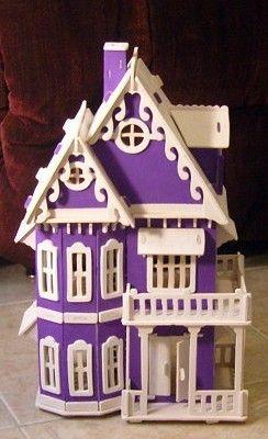 purple doll house