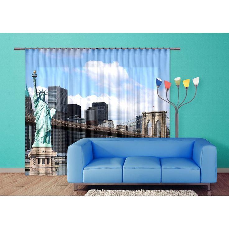 Szabadságszobor függöny #függöny #newyork #szabadságszobor #usa #lakberendezés
