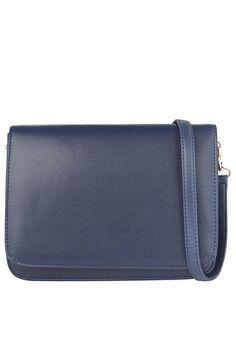 Blue Bernice Shoulder Bag