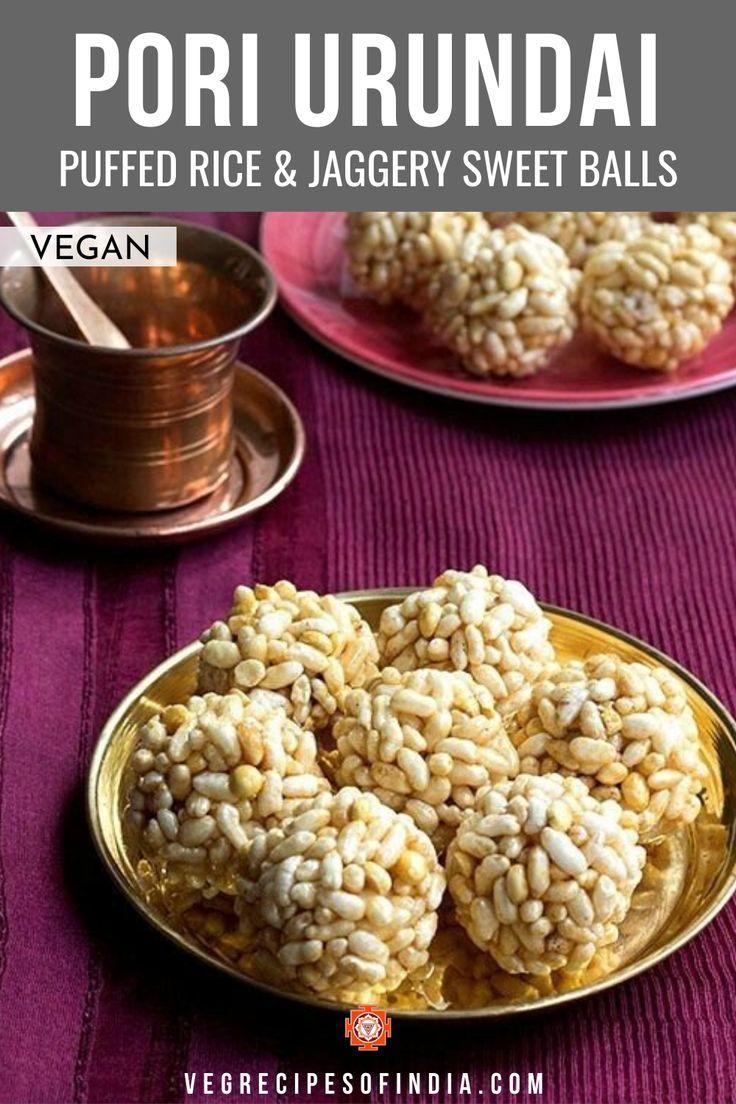Puffed Rice Ladoo In 2020 Vegan Recipes Healthy Indian Snack Recipes Easy Ladoo Recipe