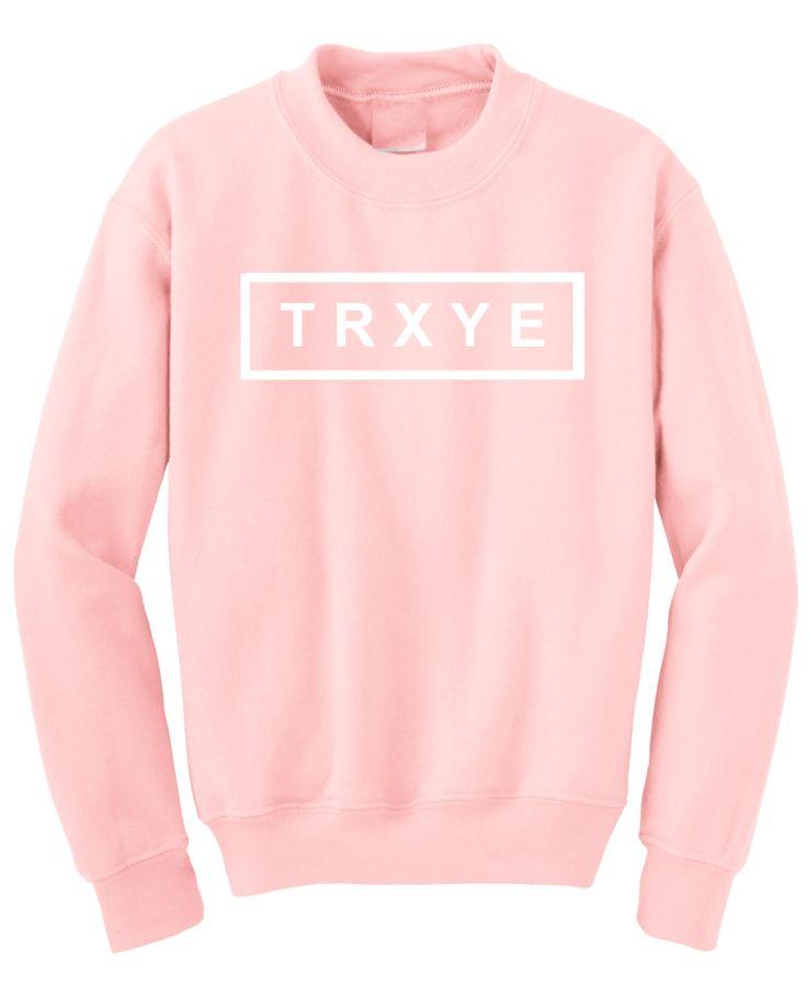 Trxye Pink Pullover Sweatshirt, TRXYE, trxye pullover sweatshirt, Troyes pullover, trxye sweatshirt, pink trxye sweatshirt Pullover, troye sivan, Troyes merch, trxye clothing