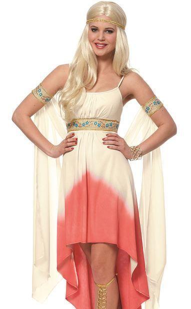 Goddess Persephone Costume (carry a Pomegranate)