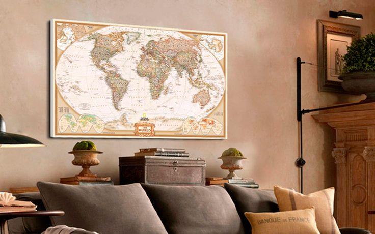 Χάρτης τοίχου διακόσμηση