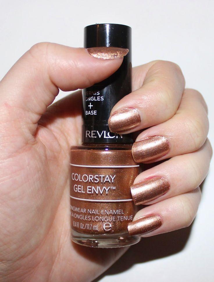 Revlon ColorStay Gel Envy Longwear Nail Enamel in Double Down