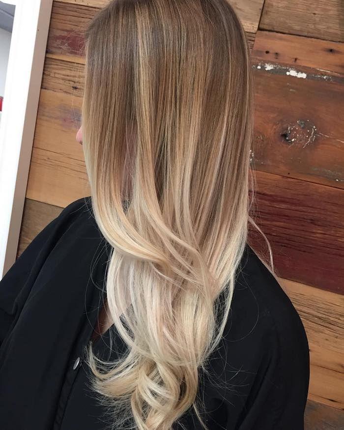 Haare im zopf unterschiedlich lang