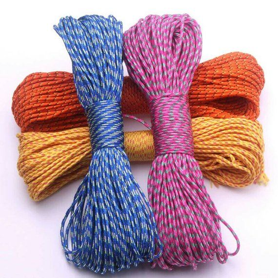 About 150 To 200 Pound Breaking Strength 1 Inner Strand 100ft Polyester To Choose Colour Please Include The Colour Numb 200 Pounds Paracord Choose Colors