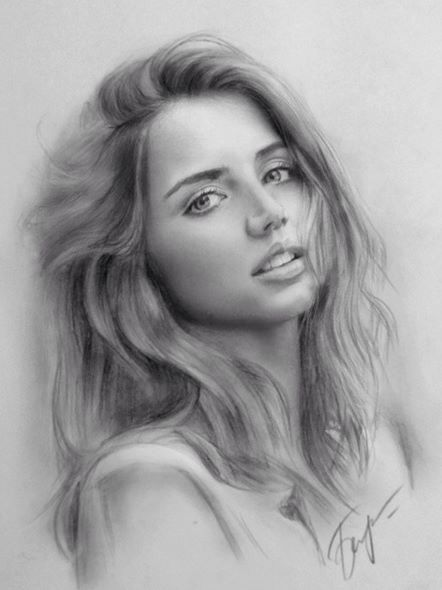 potrait pencil