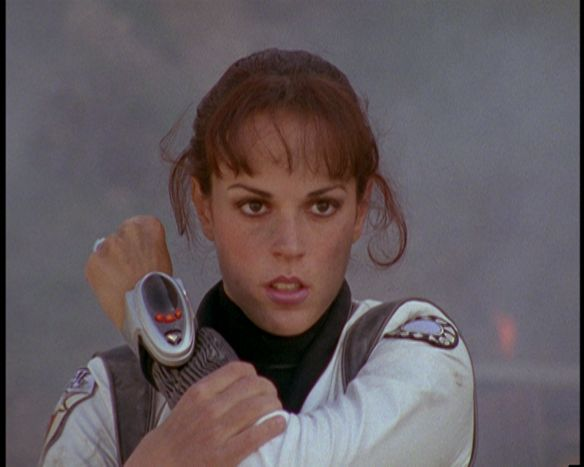 Jen Scotts is the Pink Time Force Ranger in Saban's Power Rangers: Time Force. She is the only Pink Ranger to lead a Power Rangers team.