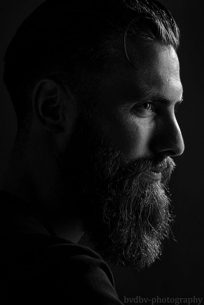 Model: Simon Photographer: Bram van Dal  #beauty #lovely #male #model #Black #White #zwart #wit #studio #Bram #van #Dal #bvdbv #photographer #photo #shoot #Filmnoir #portrait #portret #eye #eyes #headshot #shoot #close-up #closeup #Eindhoven #baard #Beard