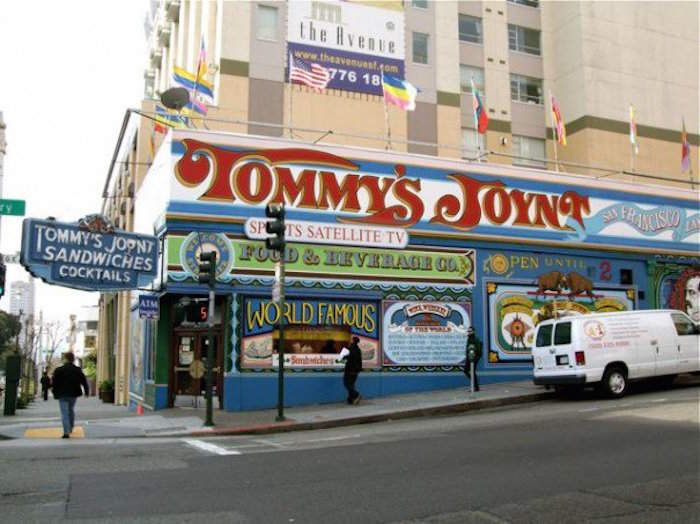 The Original Tommy's Joynt + 9 Old-School SF Restaurants + location map