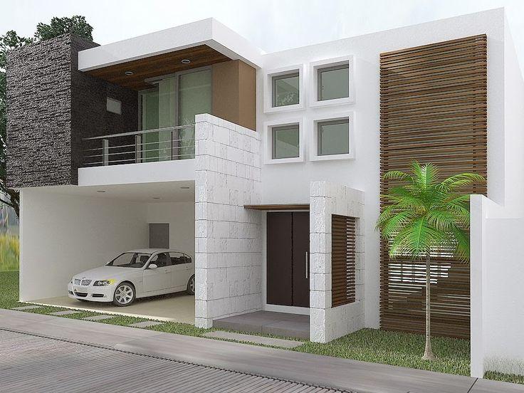 Hermosa casa con fachada contemporánea en Residencial Marin