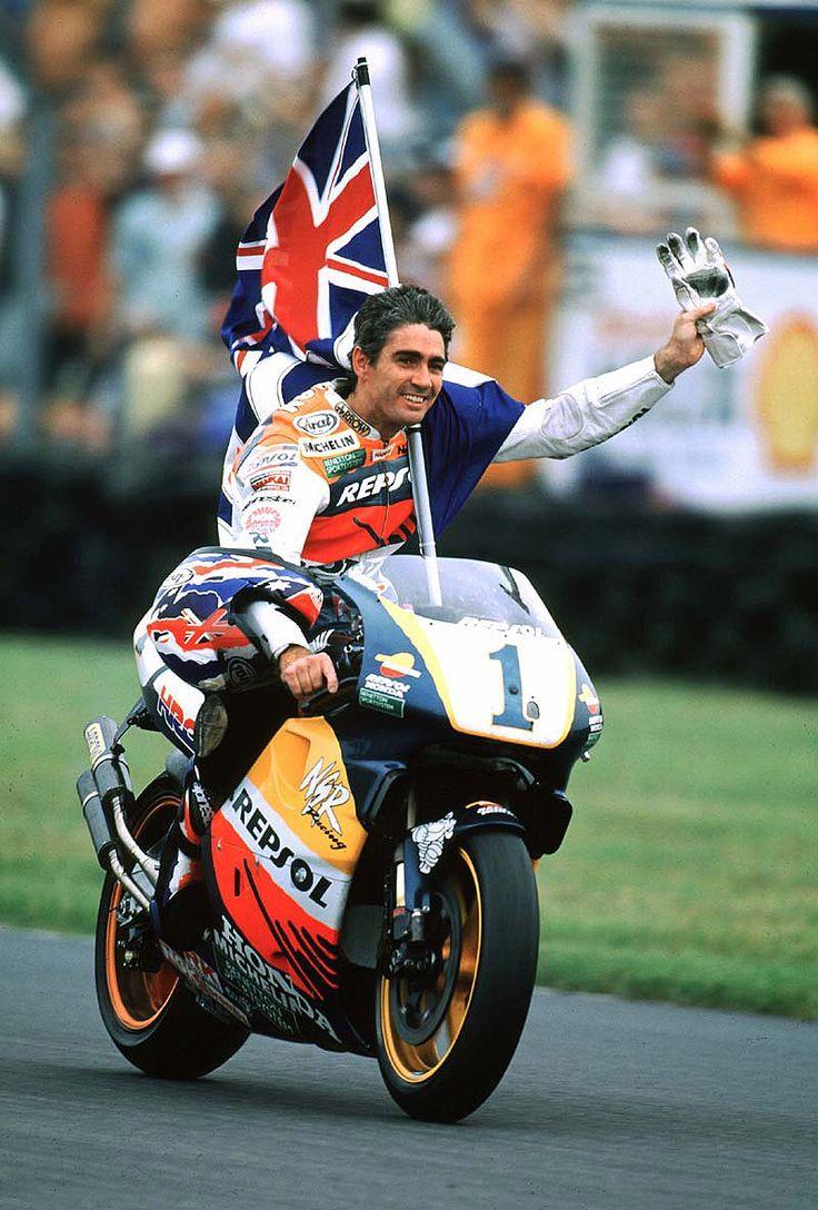 Michael Doohan. the God of bikers